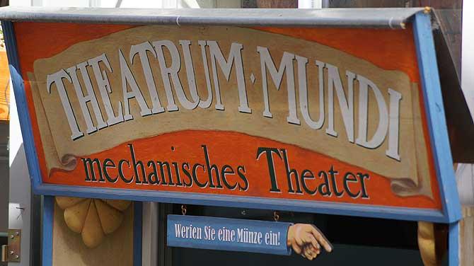Theatrum Mundi ist eine der interessanten Sehenswürdigkeiten in Erfurt