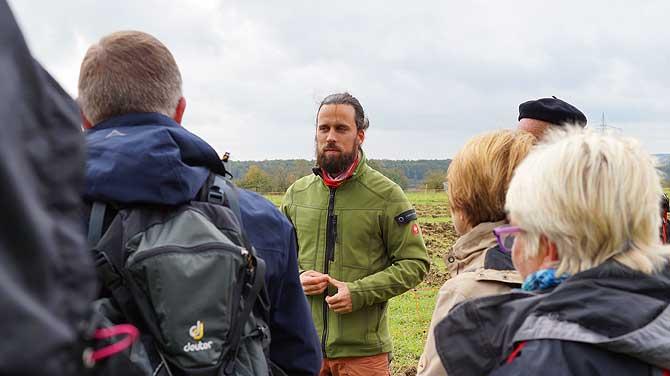 Daniel Wack vom Bio-Bauernhof