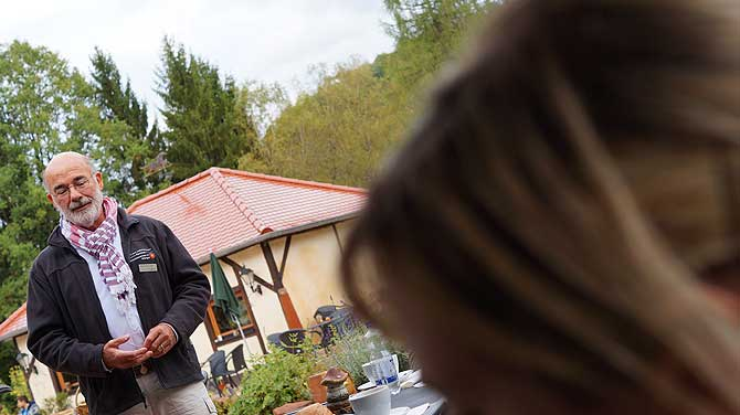 Hans Pick vom Berghof Einöd