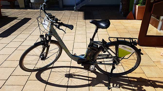E-Bike ausleihen ist möglich