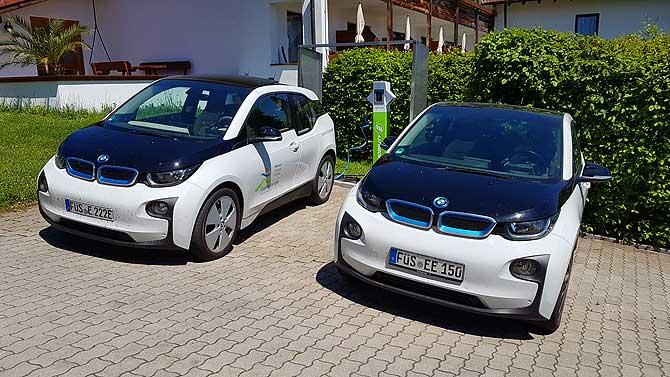 BMWs als E-Fahrzeuge