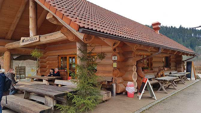 Blockhütte Bärenblick