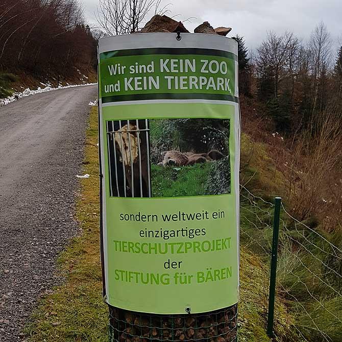 Der Wolf- und Bärenpark Bad Rippoldsau ist weder Zoo noch Tierpark