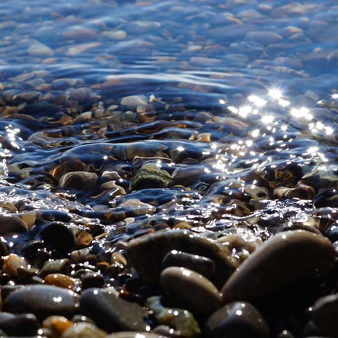Glitzerwasser