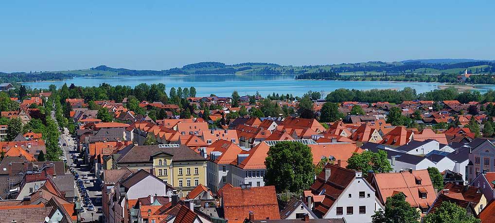 Urlaub im Allgäu beschert dir die schönsten Sehenswürdigkeiten in Füssen