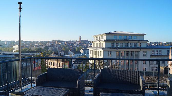 Ausblick vom Best Western Hotel Pirmasens