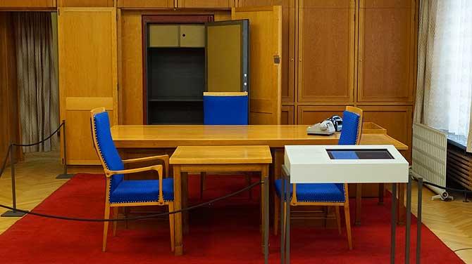 Büroräume von Erich Mielke