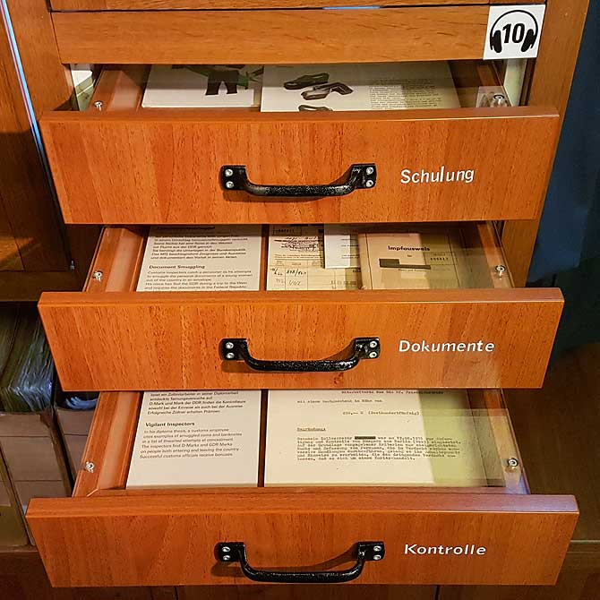 Schublade mit Geheimsachen
