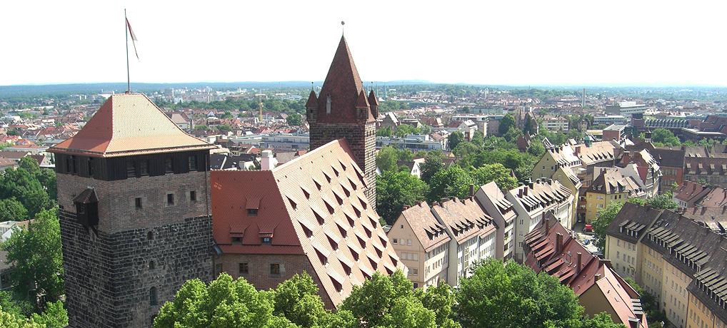 Die Kaiserburg Nürnberg ist eine der beliebtesten Sehenswürdigkeiten in Deutschland