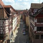Ausblick auf Alt-Nürnberg