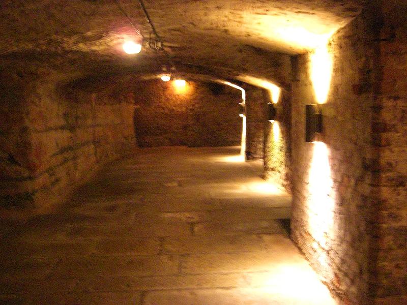 Nürnberger Felsengänge Höhlengang