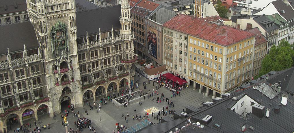 Die schönste Aussicht auf München