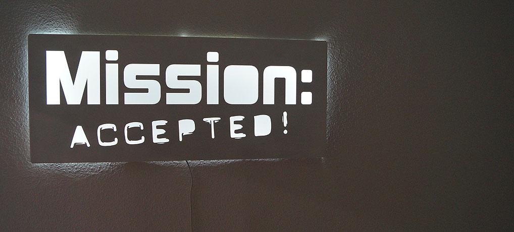 Mission Accepted in Berlin ist ein Anbieter für Live Room Escape Games.