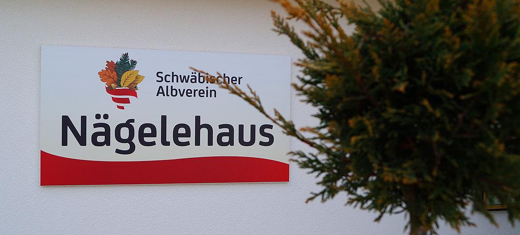 Das Wanderheim Nägelehaus bei Albstadt