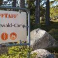 Das Raff Taff Schwarzwald Camp liegt direkt am Schluchsee.