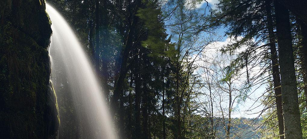 Wasserfall in Menzenschwand