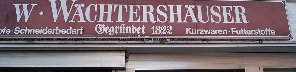 Kurzwaren Wächtershäuser Frankfurt