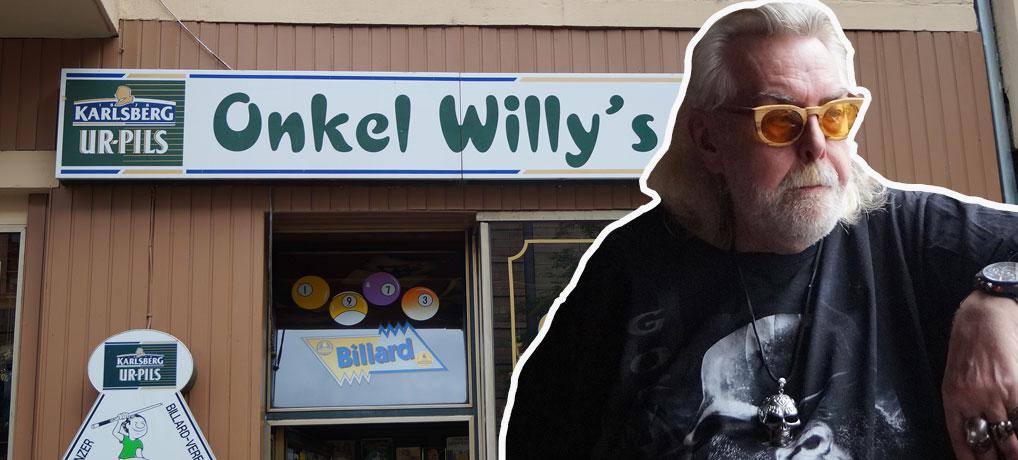 Onkel Willys Pub in Mainz ist zugleich Kultkneipe und Wahrzeichen von Mainz.