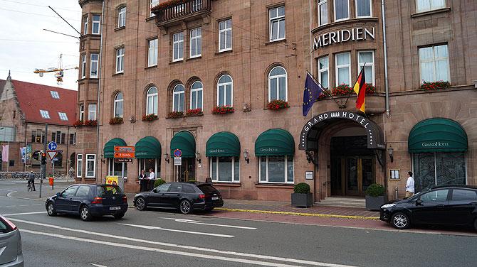 Wirkt von außen so, wie es ist: ein echtes Grandhotel