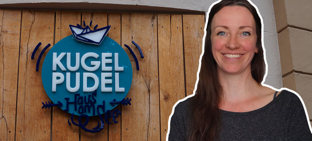 Julia Bernecker ist Chefin in der Eisdiele Kugelpudel in Bochum
