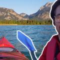 Ich bei der Kanutour auf dem Forggensee mit Kanu Kini bei Füssen