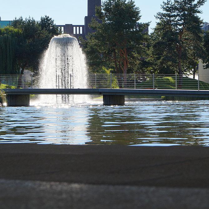 Fontänen und Brunnen