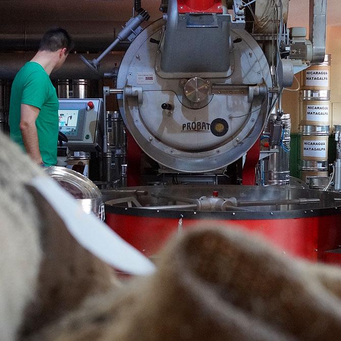 Die Kaffeerösterei von Hannover