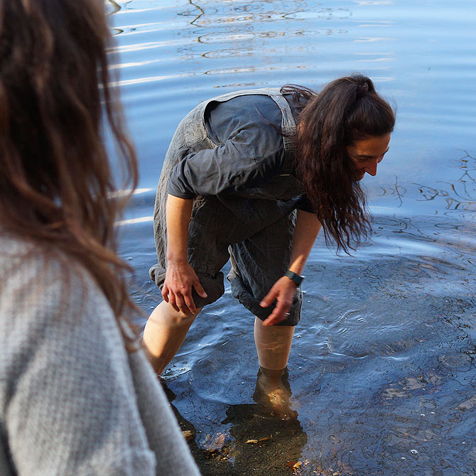 Zur Natur gehört eben auch kaltes, klares Wasser.