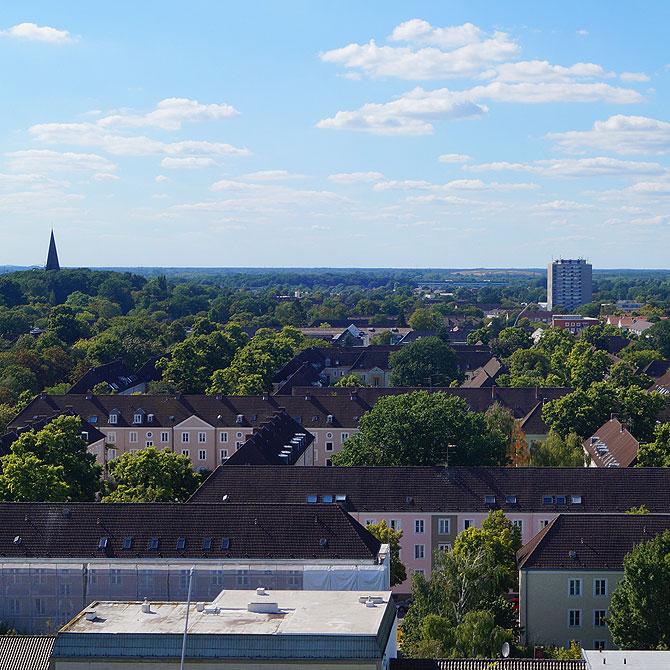 Bei der Rathausdach-Führung hast du einen tollen Panoramablick.