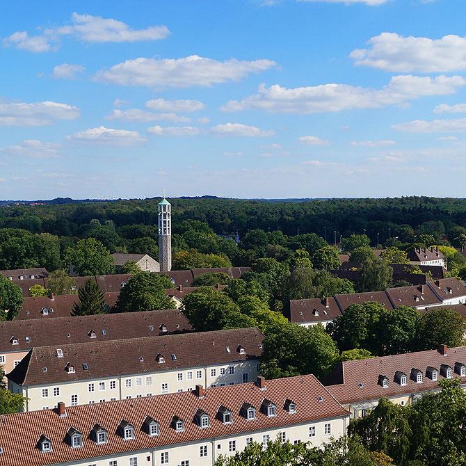 Ausblick auf den Klieversberg in Wolfsburg