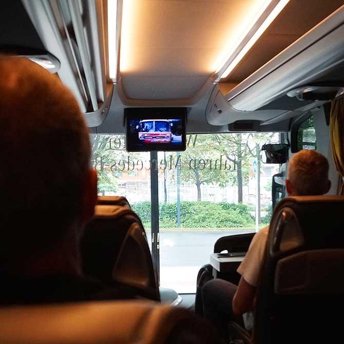 DFB-Bus im Deutschen Fußballmuseum