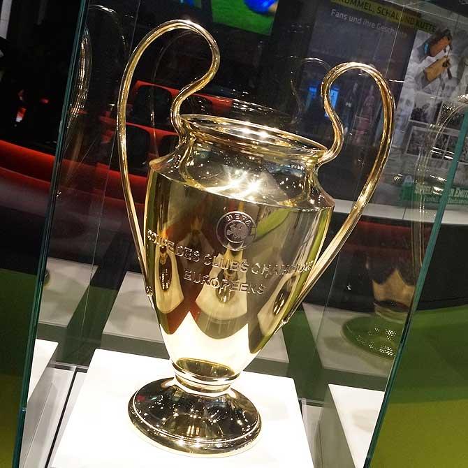 Europapokal darf auch nicht fehlen.