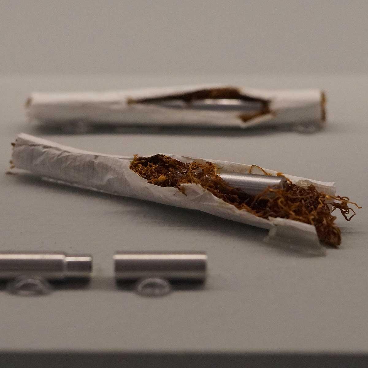 Gift in Zigarette versteckt