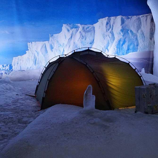 Südpol alias Antarktis im Klimahaus Bremerhaven