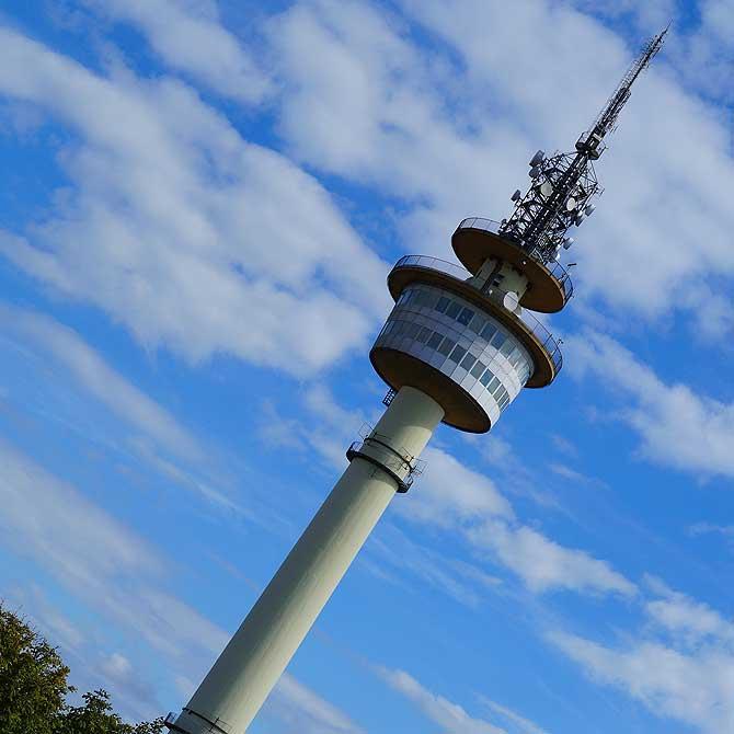 Radarturm alias Richtfunkturm in Bremerhaven