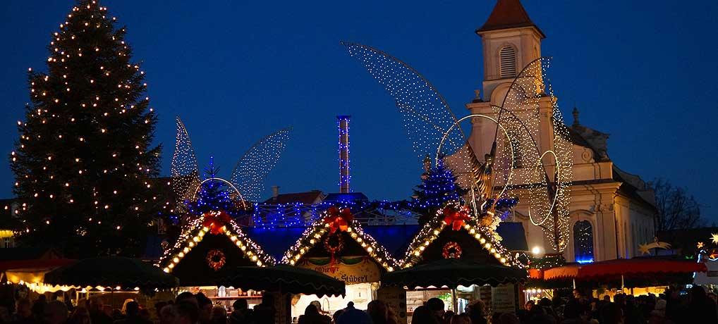 Der Ludwigsburger Weihnachtsmarkt gilt als der schönste in der Region Stuttgart und in Baden-Württemberg.
