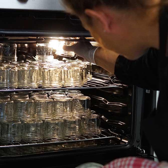 Erhitzen im heimischen Ofen muss sein