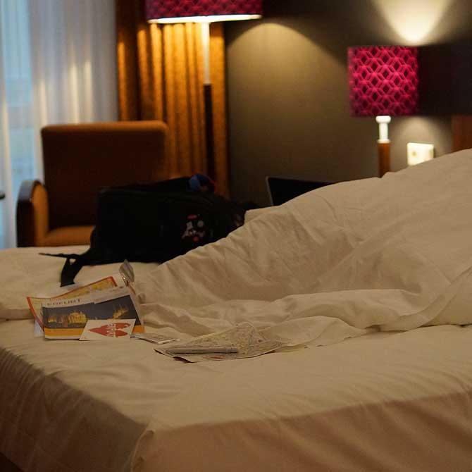 Zimmer im Dorint Hotel Erfurt