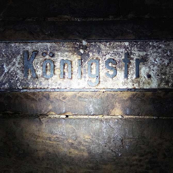 Stuttgarter Königstraße von unten