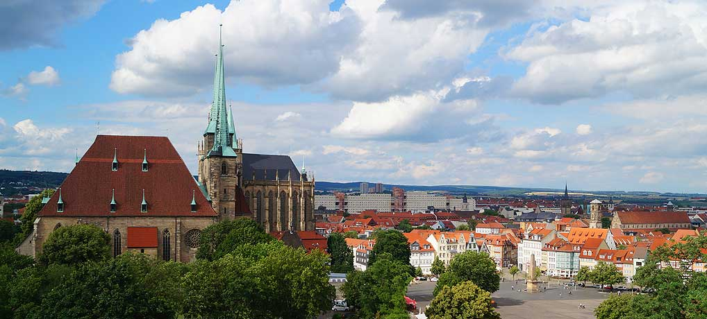 Top 10 Sehenswürdigkeiten in Erfurt