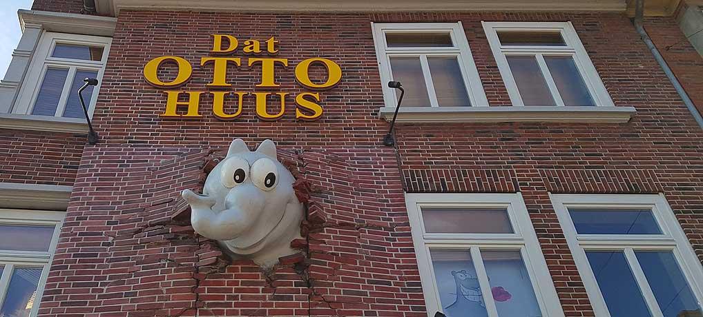 Das Otto Huus gehört zu den beliebtesten Sehenswürdigkeiten in Emden