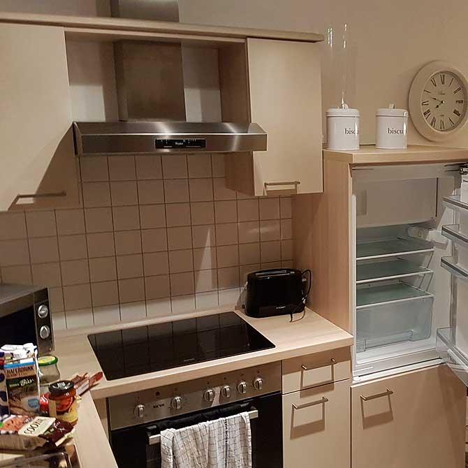 Küche fast wie daheim