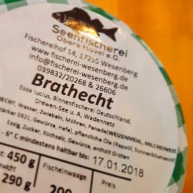 Brathecht ist der Renner in Mirow und Wesenberg