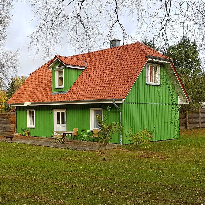 Ferienhaus in Troja namens Tante Grün