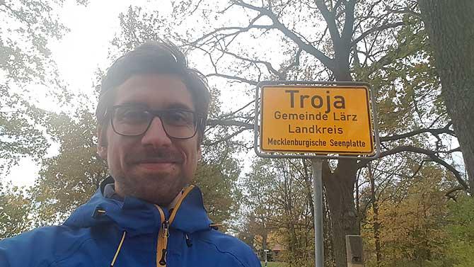 Ich in Troja