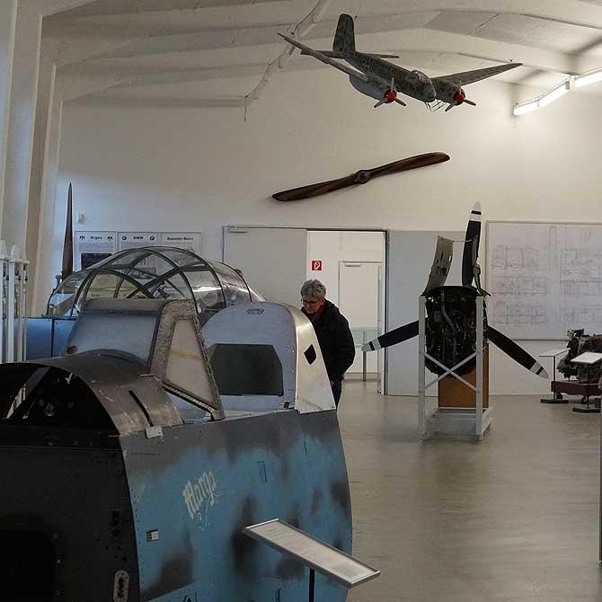 Ausstellung im Luftfahrtmuseum