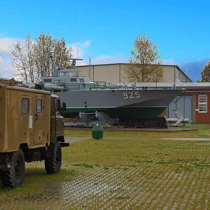 Kriegsschiff in Rechlin