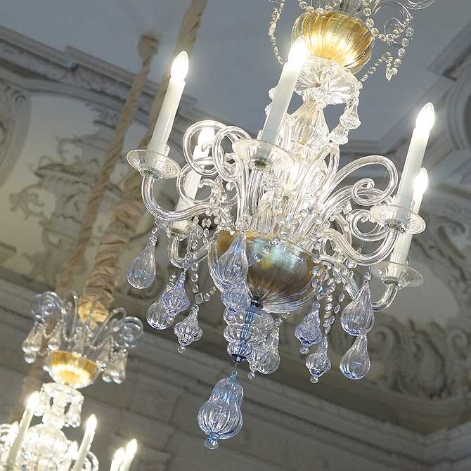 Festsaal in Schloss Mirow
