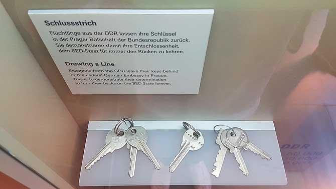 Letzte Schlüssel der DDR