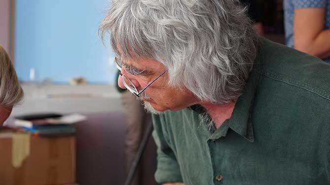 Bernd Maro ist Künstler im Hotel